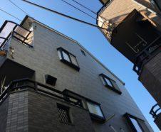 東大阪市 雨漏り補修 外壁改修サイディング 110万円
