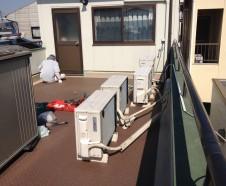 【東大阪市】 ルーフバルコニー防水工事を行われたお客様