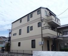 【大阪市城東区】外壁屋根塗装工事を行ったお客様