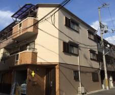 【大阪市城東区】 外壁屋根塗装・バルコニー防水工事を行ったお客様