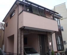 【吹田市】 外壁塗装・屋根塗装・バルコニー防水を行ったお客様