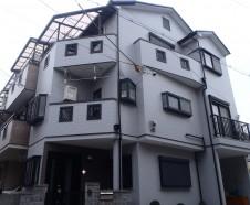 【東大阪市】 外壁屋根塗装工事・バルコニー防水工事を行ったお客様