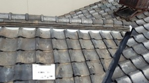 瓦屋根 漏水補修 漆喰補修 ズレ止シール補修