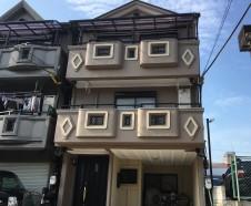 【大阪市城東区】 外壁塗装・屋根塗装・バルコニー防水を行ったお客様