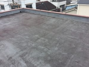 屋上雨漏れ 屋上かぶせ防水工法 塩ビシート機械的固定工法
