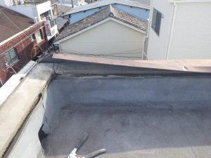 屋上かぶせ防水工法 塩ビシート機械的固定工法