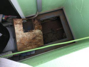 バルコニー防水漏水 下地補修 下地補修