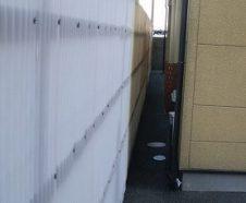 【大阪市鶴見区】雨樋・波板の補修工事を行ったお客様