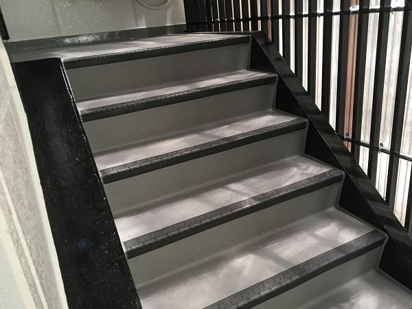 大阪市 階段 長尺シート