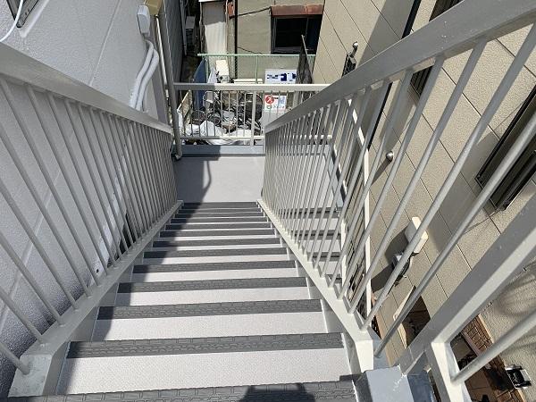 大阪市 アパート 外壁塗装 長尺シート ダイタク