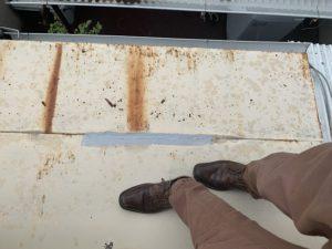 板金屋根 劣化