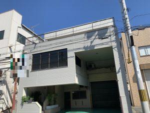 東大阪市 ALC+タイル雨漏 サイディング工事 ダイタク