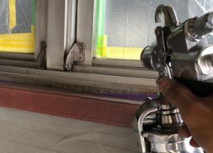 アアルミサッシ現場塗装 アルミ塗り替え ルミ現場塗装 アルミサッシ現場塗装 ダイタク