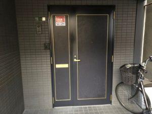 玄関 塗装 ダイタク