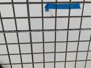 高所作業車 FIX窓 タイル 雨漏れ ダイタク