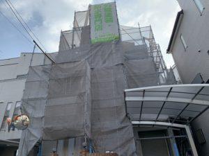 東大阪市 外壁塗装・屋根塗装 グラナート シリコンREVO ガイナ ダイタク