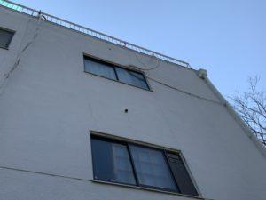 大阪市 雨漏り補修に伴う一面外壁塗装 ダイタク