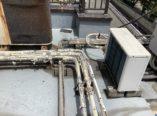大阪市 屋上防水工事に伴う設備配管メンテナンス ダイタク