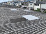 東大阪市 大波スレート屋根 雨漏り補修+部分張替 ダイタク