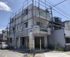 大阪市 外壁 屋根 塗装 仮設足場 高圧洗浄 ダイタク