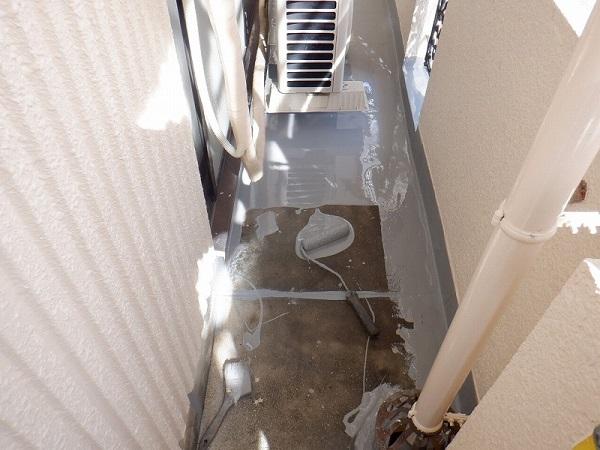 大阪市 防水 塗装 ウレタン塗膜防水 塩ビシート防水 ハイツ 集合住宅 ダイタク