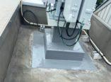 大阪市 アンテナ基礎架台防水 ダイタク
