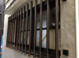 大阪市 外壁塗装完了後、面格子取付 ダイタク