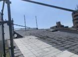 大阪市 雨漏りによる屋根改修・シーリング工事 仮設足場設置 ダイタク