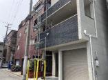 大阪市 屋根 塗装 スレート ガイナ ダイタク 足場