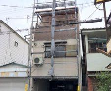 大阪市 外壁 屋根 塗装 ダイタク 足場