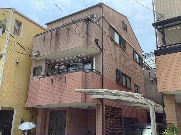 東大阪市 外壁塗装 超低汚染リファイン DAITAKU