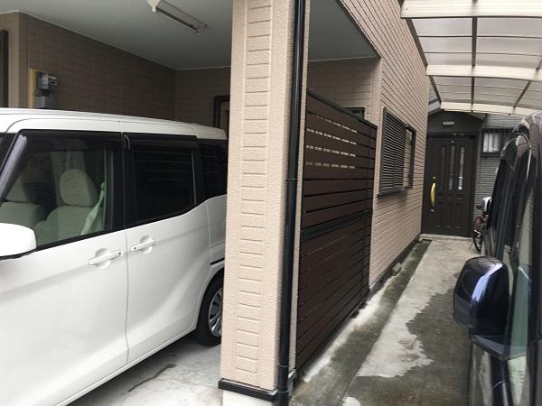 東大阪市 エクステリア フェンス DAITAKU