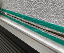 大阪市 外壁クラック 雨漏れ改善 シーリング工事