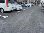 東大阪市 駐車場 ライン番号塗装 ダイタク