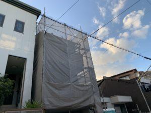 大阪市 外壁塗装 屋根改修 仮設足場設置 ダイタク