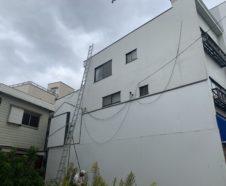 大阪市 屋根改修工事 昇降用ハシゴ設置
