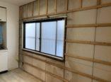 大阪市 雨漏れ補修後内壁張替え工事