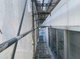 大阪市 テナントショールーム外壁 雨漏りシーリング補修 ダイタク
