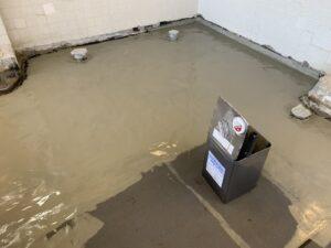 大阪市 某施設 浴室床改修工事 防水 ダイタク DAITAKU