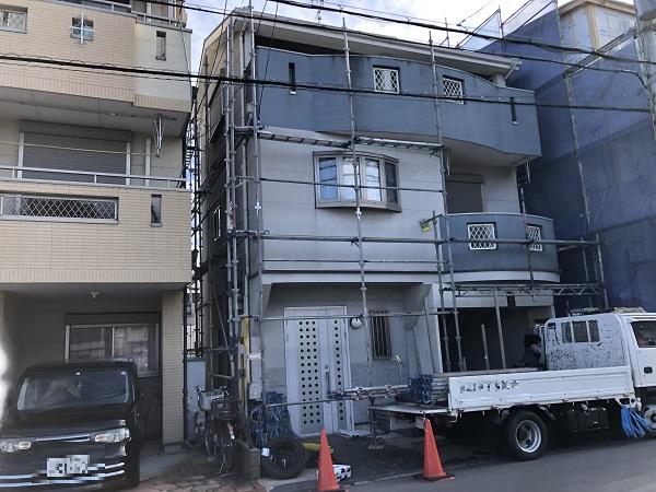 大阪市 東大阪市 外壁 屋根 塗装 足場 ダイタク