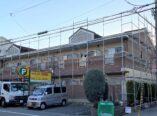 東大阪市 アパート ハイツ マンション 外壁塗装 プレミアムシリコン DAITAKU