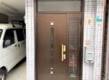 大阪市 東大阪市 玄関ドア塗装 DAITAKU