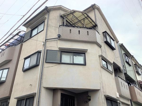 大阪市 外壁塗装 超低汚染リファイン DAITAKU