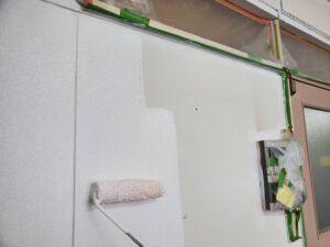 大阪市 オフィスビル 退去リフォーム 原状回復工事 内壁塗装 内装工事 ダイタク DAITAKU