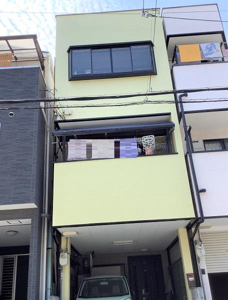 大阪市 外壁塗装 雨漏り アステックペイント ラジカルシリコン DAITAKU