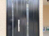 大阪市 玄関ドア アルミ塗装 リペア DAITAKU
