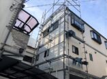 大阪市 台風被害 サイディング補修 DAITAKU